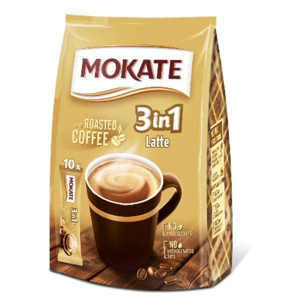 MOKATE BAG LATTE 3 In1 10PK SACHET X 10